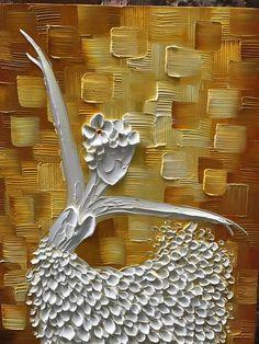 Ballet girl Dancers Oil painting On Canvas Texture Palette Knife Abstract Art Paintings Modern Home Decor Canvas Wall Art Painting Fall Canvas Painting, Abstract Canvas Art, Canvas Wall Art, Palette Knife Painting, Ballet Girls, Painting Edges, Texture Art, Art Oil, 30