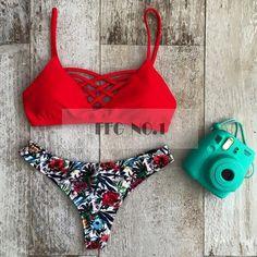 Bikini set new Brazilian women New sexy Beach Swimwear swimsuit women swimwear bathing suit bikini bandage swimsuit NK08