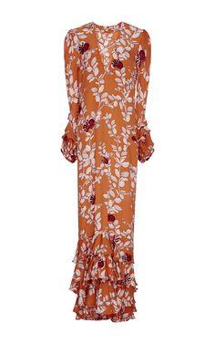 Azafran Embellished Dress by JOHANNA ORTIZ Now Available on Moda Operandi