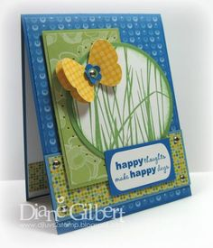 Happy Thoughts by DJLuvs2stamp - Cards and Paper Crafts at Splitcoaststampers