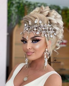 Wedding Hair And Makeup, Wedding Hair Accessories, Hair Makeup, Queen, Lancome, Sephora, Wedding Hairstyles, Hair Color, Make Up