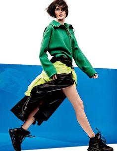 Vogue Russia - Sport Revue photographer Jason Kibbler