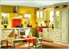 colorful kitchen decorating ideas | Kitchen Colors: Colorful Kitchen Designs