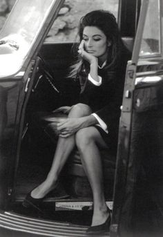 Anouk Aimee, on the set of Justine by Eve Arnold, 1968