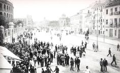 Calle Játiva de Valencia en 1930