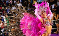 Argentina  celebrates Carnival  in Corrientes 2016