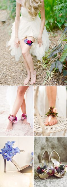 "HAH Most brides and bridesmaids carry flowers, and we love the endless possibilities of creativity that are out there to florists. The new trend for wedding flowers is to ""wear"" them! There are many unique ways to create wearable flower.  Other than floral headpieces we are all familiar of, but also as jewelry, belts, accessories, and …"