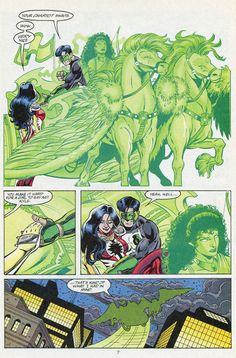 Kyle Rayner and Donna Troy | Kyle Rayner And Donna Troy This event leaves donna