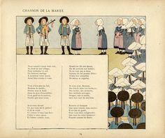 La Chanson de la Mariée L-M Boutet de Monvel by kikihalb... computer operational again :-), via Flickr