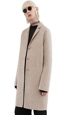 Acne Studios Elsa doublé Cashmere blend coat