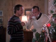 National-Lampoons-Christmas-Vacation,Love Cousin Eddie-Nothing Better than a black dickie under a white sweater-lol Classic Christmas Movies, Christmas Love, Christmas Holidays, Classic Movies, Happy Holidays, Merry Christmas, Xmas, Christmas Vacation Sweaters, Christmas Vacation Quotes