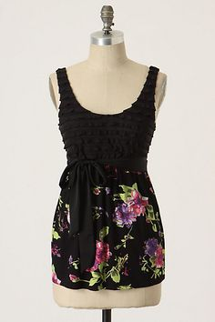 Glimpse Of Paradise Tank #anthropologie  **For Reference only