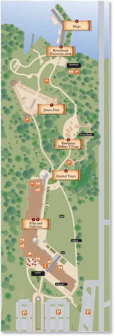 Jamestown Settlement | Jamestown Settlement Map Directions