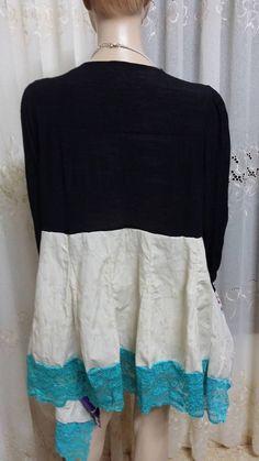 free shipping nebal qadora Upcycled Boho Dress by nebalqadora