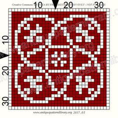ru / Фото - Le Filet Ancien V - gabbach Counted Cross Stitch Patterns, Cross Stitch Charts, Cross Stitch Designs, Knitting Charts, Knitting Patterns, Crochet Patterns, Filet Crochet, Crochet Stitches, Monochrome Pattern