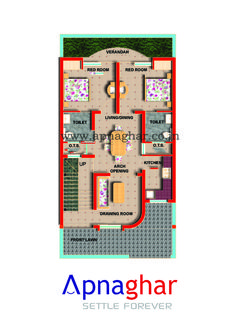 Floor Plans merging Vastu and modern house techniques. Visit - www.apnaghar.co.in