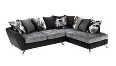 2 Seater With Right Hand Facing Chaise