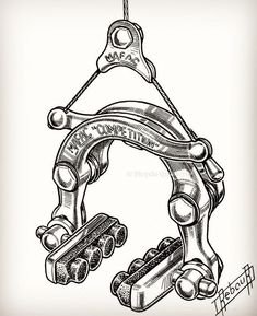 regram @futuro_cycles 70's Mafac Competition brake calipers drawing by Daniel Rebour.      #vintage #cycling #passion #archive #rebour #danielrebour #mafac #competition #oldschool #perfect #parts #partsporn #futuro #cycles #steel #racing #bicycle #swiss #workshop #road #race #bike #follow #instadaily #eroica #mechanic #bikeporn #instagood #instaparts