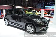 Suzuki Swift Sport at 2015 Geneva Motor Show