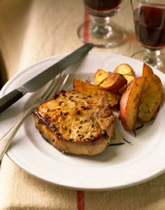 Roasted Pork Chops with Potatoes