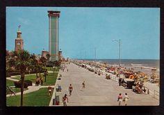 Daytona Beach photos vintage 1960s   Details about 1960s Old Cars Ocean Front Park Daytona Beach FL PC