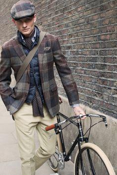 The Plaid Biker