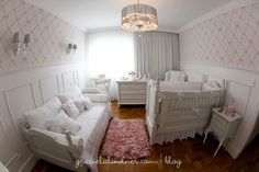 I like the idea of a daybed and I like the wainscoting with the wall paper above.