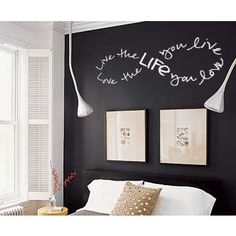 Infinity Love Life Live Wall Decal - Trading Phrases
