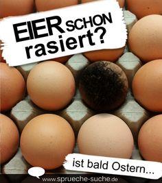 Da bald Ostern ist und man seine Eier auch bunt bemalen möchte, stellt sich um diese Jahreszeit immer die Frage: Eier schon rasiert? Ist bald Ostern...