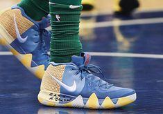 Nike Kyrie 4 PE NBA London Game #thatdope #sneakers #luxury #dope #fashion #trending