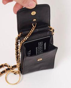 Vintage Chanel Micro Mini Cross Body Bag