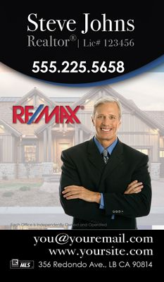 24 best remax business cards images on pinterest real estate remax business cards real estate business cards real estate agent business cards vertical wajeb