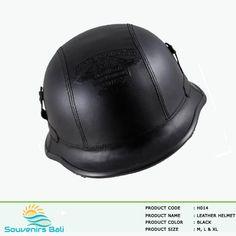 German Half Helmet For Harley Davidson Motorcycle - Leather Helmet Half Helmets, Motorcycle Leather, Riding Helmets, Harley Davidson, German, Black, Art, Deutsch, Art Background