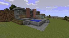 Minecraft - Modern House by Zefengel on DeviantArt