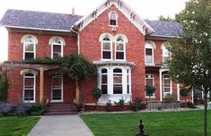 Indiana Brick Farmhouse & Barn