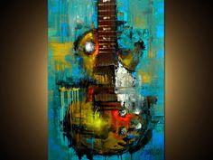 Custom Painting - Modern Abstract Art by SLAZO - 30x40 - Made To Orer