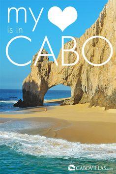 Love, from www.CaboVillas.com     Los Cabos #Cabo #Travel #Mexico Cabo San Lucas
