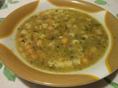 Zuppa di cicoria e ceci