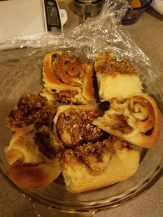 My husbands grandmother, Helen Kohler eventually gave up her recipe for sweet roll dough and turned to frozen bread dough, but I turned back the clock for authentic cinnamon rolls.