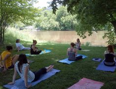 Outdoor yoga at Quarry as part of our 30x30 challenge! #davidsuzuki #quarry #outdoors
