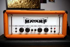 Up for sale is a very rare 1972' Matamp Gt 100 with rare orangetolex. No modifications. New Tubes.Great Sound. Serial Nr. 256.Please contact me for shipping costs.
