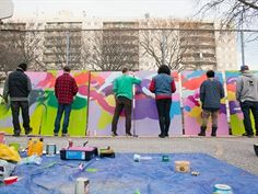 WORKSIGHT project aims to turn construction hoarding into public art