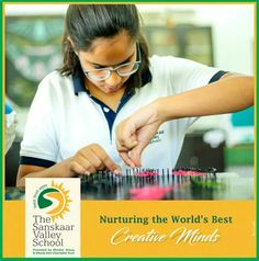 Nurturing a child's mindset is essential for their effective growth. It inspires them to be more productive and creative. We at The Sanskaar Valley School believe in igniting students' intelligence and unraveling the mysteries of creative mind. #TSVS #ShikharStudents #SopaanStudents #AadharStudents #PranganStudents #SVN