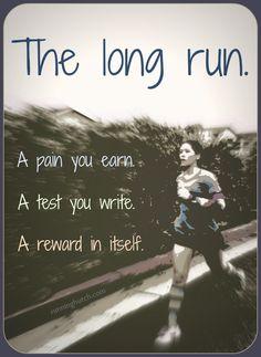 The long run...