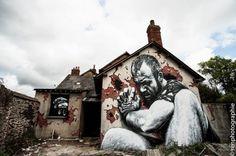 STREET ART UTOPIA »Declaramos al mundo como nuestro UTOPIA canvasSTREET ART» Declaramos al mundo como nuestro lienzo
