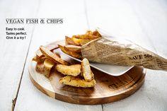 100 % Végétal: Vegan fish & chips !