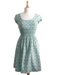 Our store manager has this adorable hand block-printed fair trade dress from Mata Traders -- it's even cuter in person! #fashion