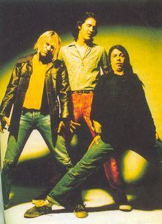 Nirvana. They opened for Dinosaur Jr., with about 200 people in attendance. Tickets were only $2.50.