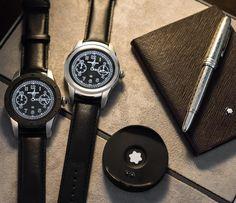 Montblanc Summit Smartwatch Hands-On Swiss Made Watches, Swiss Army Watches, Cool Watches, Watches For Men, Montblanc Summit, Apple Watch Fashion, Most Popular Watches, Watch Blog, Running Watch
