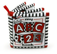 Baby's My First ABC Cloth Book - Black, White & Red Genius Baby Toys http://www.amazon.com/dp/B005O1L770/ref=cm_sw_r_pi_dp_AyOWtb0E6SMW4WD7
